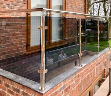 Outdoor Stainlesss Steel Balustrade